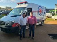 Cassilândia recebe Ambulância com UTI Móvel