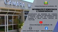 Informação é Democracia e Transparência!