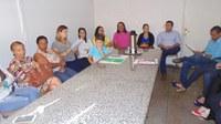 Membros do SUAS reúnem-se com Vereadores na Câmara.