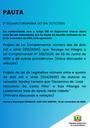Pauta da 2ª Sessão Ordinária - 23/11/2020
