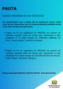Pauta da Reunião Ordinária do dia 03/05/2021