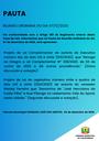 Pauta da Reunião Ordinária do dia 07/12/2020.