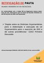 Pauta da Reunião Ordinária do dia 08/06/2020