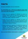 Pauta da Reunião Ordinária do dia 10/05/2021