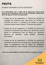 Pauta da Reunião Ordinária do dia 10/08/2020