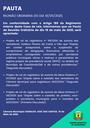 Pauta da Reunião Ordinária do dia 18/05/2020