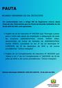 Pauta da Reunião Ordinária do dia 26/04/2021
