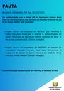 Pauta da Reunião Ordinária do dia 30/03/2021