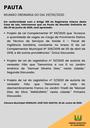 Pauta da Reunião Ordinária do dia 29/06/2020