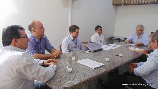 Executivo e Legislativo reúnem-se com Diretores da Energisa.