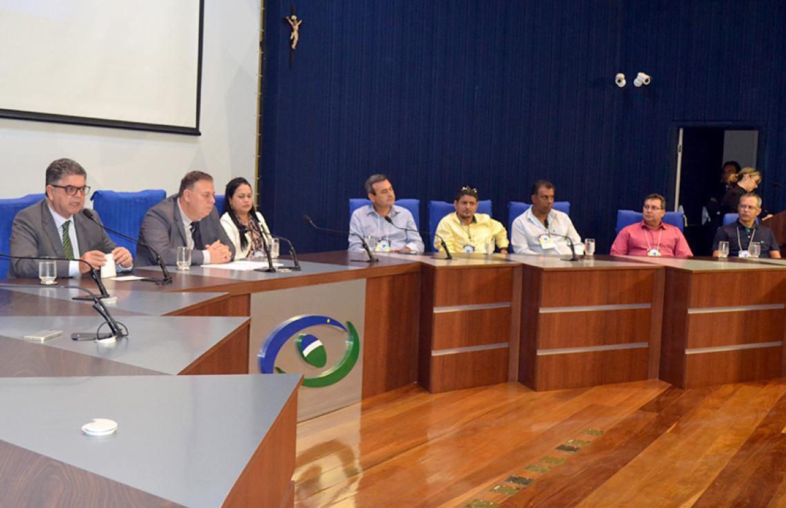 Seminário Estadual reúne vereadores no TCE-MS