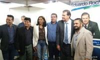 Presidente da Câmara acompanha representantes das entidades em Campo Grande-MS